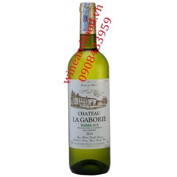 Rượu vang trắng chateau La Gaborie Bordeaux