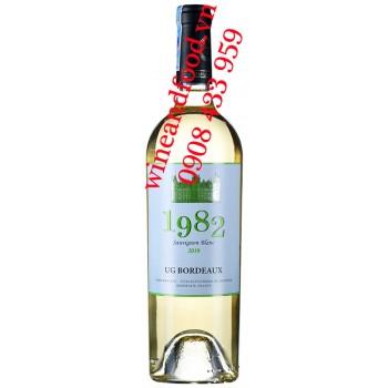 Rượu vang 1982 Sauvignon Blanc trắng 750ml
