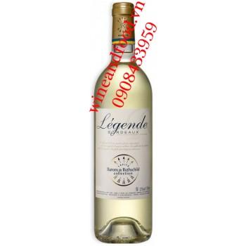 Rượu vang Barons de Rothschild Legende trắng 750ml