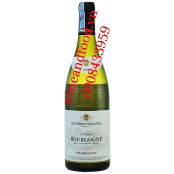 Rượu vang Bouchard Pere & Fils Chardonnay Bourgogne trắng