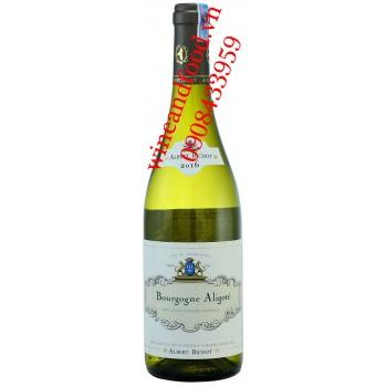Rượu vang Bourgogne Aligote Albert Bichot trắng 750ml