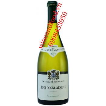 Rượu vang Bourgogne Aligote chateau De Meursault trắng