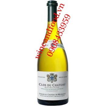 Rượu vang Bourgogne Chardonnay chateau de Meursault trắng