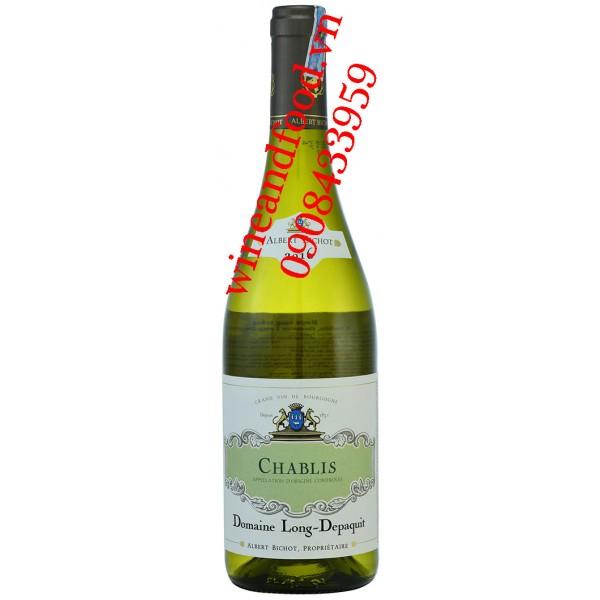 Rượu vang Chablis Albert Bichot Domaine Long Depaquit 2016