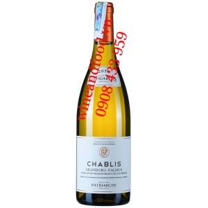 Rượu vang Chablis Grand Cru Valmur Patriarche 750ml