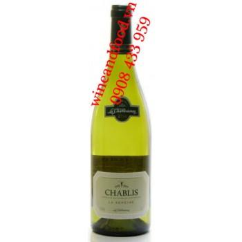 Rượu vang Chablis La Chablisienne La Sereine 75cl