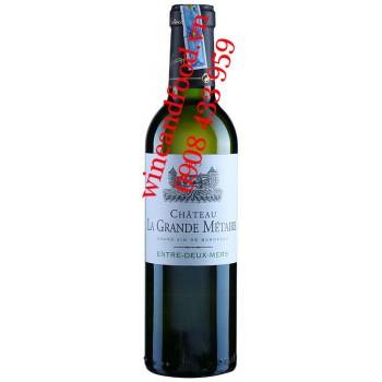 Rượu vang château La Grande Métairie trắng 375ml