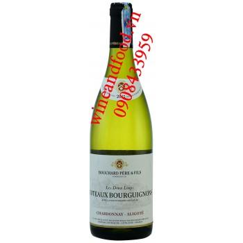 Rượu vang Coteaux Bourguignons Pere & Fils Chardonnay Aligote trắng