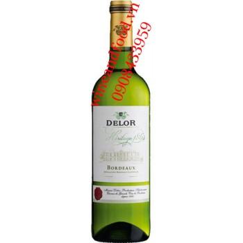 Rượu vang Delor Heritage 1864 trắng 750ml