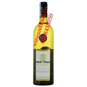 Rượu vang Domaine d'Arton trắng 750ml