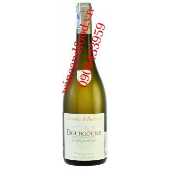 Rượu vang Domaine De Rochebin Bourgogne Chardonnay 750ml