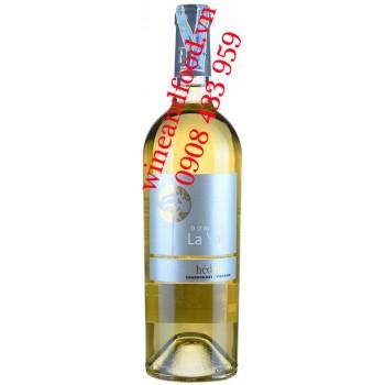 Rượu vang Domaine La Yole Hédeia Chardonnay Viognier 750ml