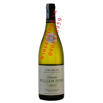 Rượu vang Domaine William Fevre Chablis 750ml
