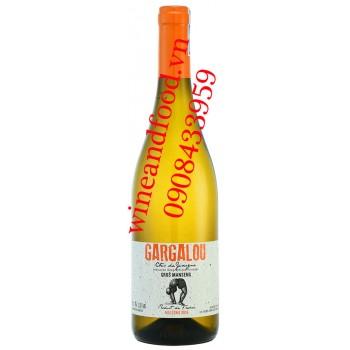 Rượu vang Gargalou Gros Manseng Cotes de Gascogne trắng 750ml