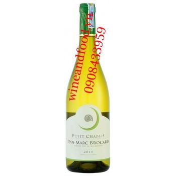 Rượu vang Jean Marc Brocard Petit Chablis 750ml