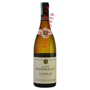 Rượu vang Joseph Faiveley Chablis 750ml