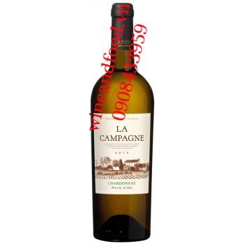 Rượu vang La Campagne Chardonnay 750ml