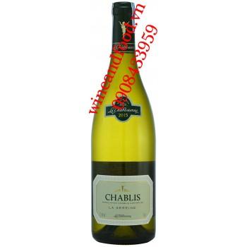 Rượu vang La Chablisienne Petit Chablis 2015