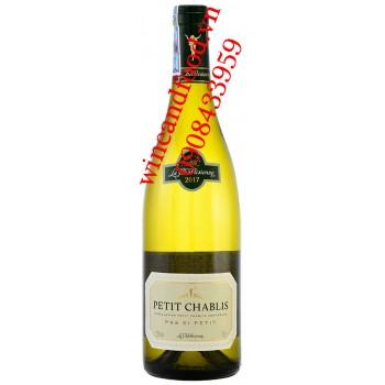 Rượu vang La Chablisienne Petit Chablis 750ml
