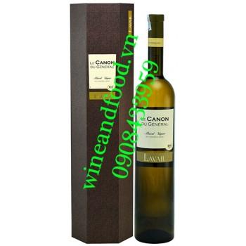 Rượu vang Le Canon Du General Muscat Viogner 1500ml