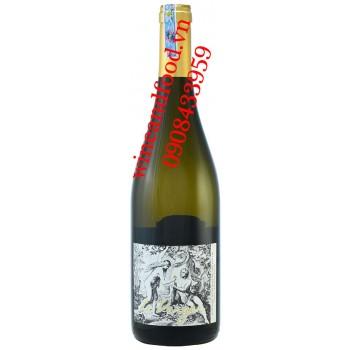 Rượu vang Le Verger Muscadet Serve Maine Tire Sur Lie trắng