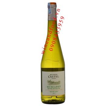 Rượu vang Maison Castel Muscadet Sur Lie 750ml