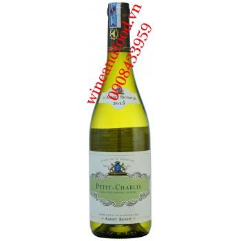 Rượu vang Petit Chablis Albert Bichot 750ml
