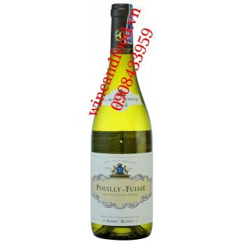 Rượu vang Poully Fuisse Albert Bichot trắng 750ml