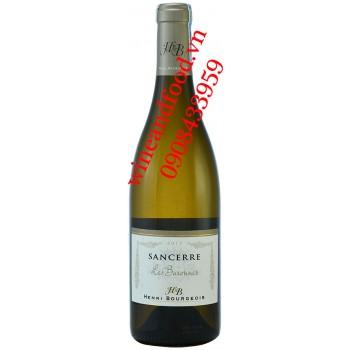 Rượu vang Sancerre Les Barounes Henri Bourgeois trắng