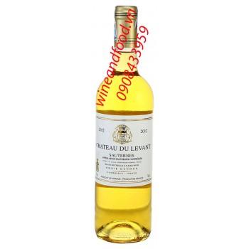 Rượu vang Sauternes chateau du Levant