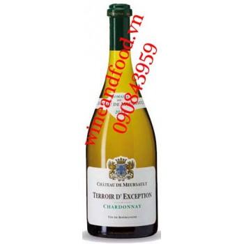Rượu vang Terroir D'exception Chateau de Meursault Bourgogne trắng