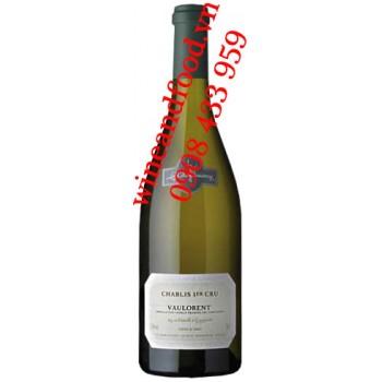 Rượu vang trắng Chablis 1ER Cru Vaulorent 750ml