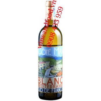 Rượu vang trắng Côté Mas 750ml