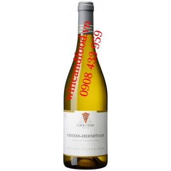 Rượu vang trắng Crozes Hermitage Grand Classique 750ml