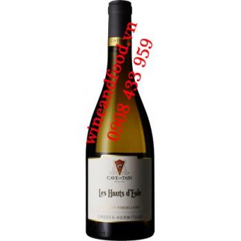 Rượu vang trắng Crozes Hermitage Les Hauts D'eole 750ml
