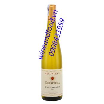 Rượu vang trắng D'alsace Gewurztraminer
