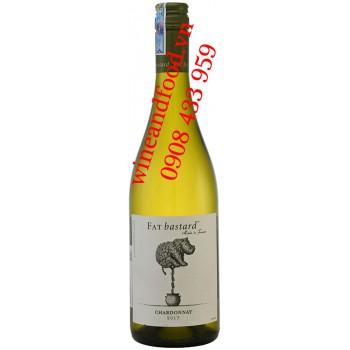 Rượu vang trắng Fat Bastard Chardonnay 750ml