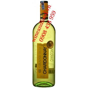 Rượu vang trắng Grand Sud Chardonnay 1 Lít