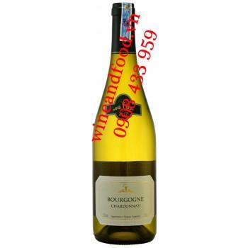 Rượu vang trắng La Chablisienne Bourgogne Chardonnay 750ml