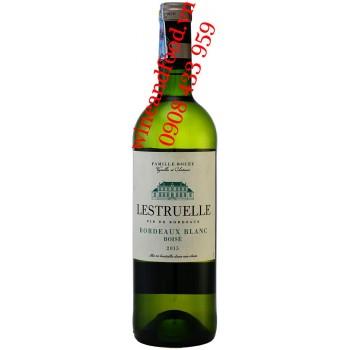 Rượu vang trắng Les Truelle Famille Bouey Bordeaux 750ml