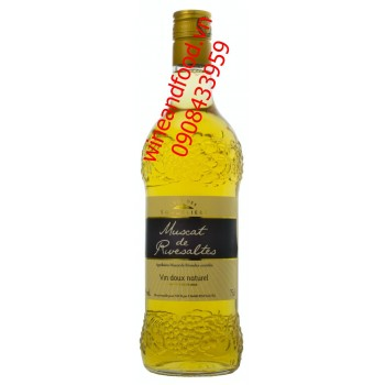 Rượu vang trắng Muscat de Rivesaltes 75cl