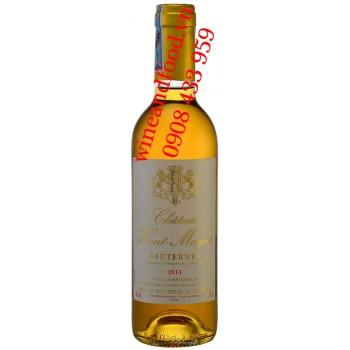 Rượu vang trắng ngọt chateau Haut Mayne Sauternes 375ml