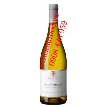 Rượu vang trắng Saint Joseph Grand Classique Marsanne 750ml