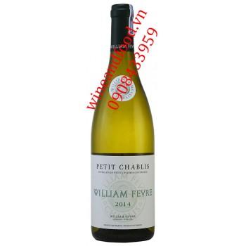 Rượu vang trắng William Fevre Petit Chablis 2014