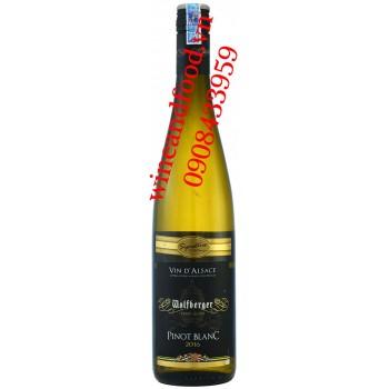 Rượu vang Wolfberger Pinot Blanc D'alsace trắng 750ml