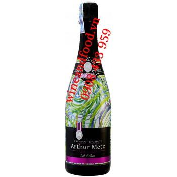 Rượu vang nổ Arthur Metz Crémant D'alsace Brut 750ml