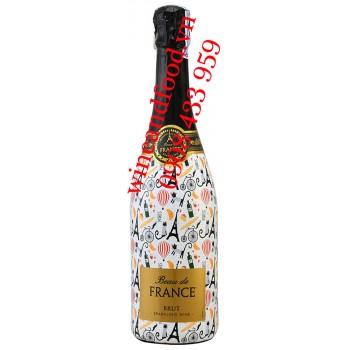 Rượu vang nổ Beau De France Brut 750ml