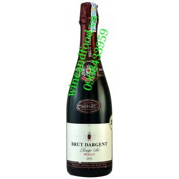 Rượu vang nổ Brut Dargent Merlot 750ml
