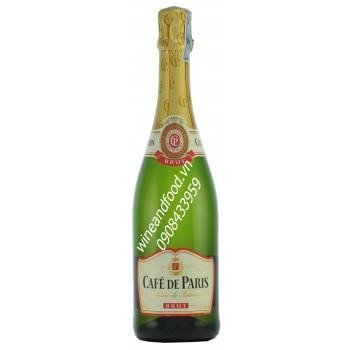 Rượu vang nổ Cafe de Paris 75cl