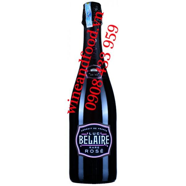 Rượu vang nổ Luc Belaire Rose đèn Led 750ml